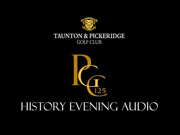 PGC125 History Event – Audio Recording