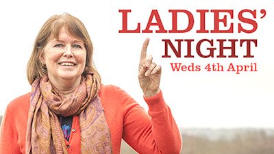 Join Jeanne Leader for Ladies Night – Weds 4th April