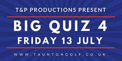 Big Quiz 4 – Friday 13th July