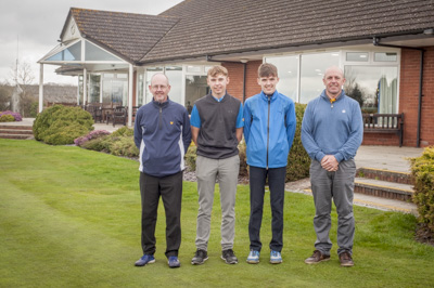 The Junior Captain's Texas Scramble